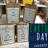 Earth Day Recycle Sort Freebie