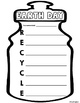 Earth Day Recycle Water Bottle Acrostic