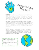 Earth Day - Recycled Art Project