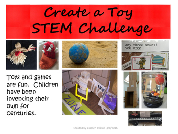Earth Day Recycled Toy STEM Challenge