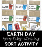Earth Day Recycling Category Sort Activity