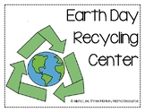 Earth Day Recycling Center Activity