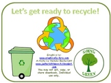 Earth Day Recycling - Freebie