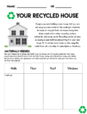 Earth Day: Build A Recycling House PBL