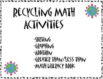 Earth Day Recycling Math Activities