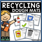 Earth Day Recycling Play Dough Mats Activities