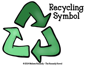 Earth Day Recycling Activity Sort {Anchor Charts, Mats, Cards & MORE!}
