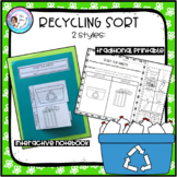 Earth Day Recycling Sort - 2 versions
