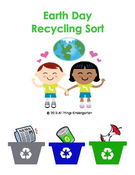 Earth Day Recycling Sorting Game