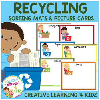 Earth Day Sorting Mats Recycling