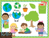 Earth Day Recycling and Environment Clip Art Combo