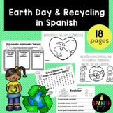 Earth Day & Recycling in Spanish (Actividades Dia de la tierra y reciclar)