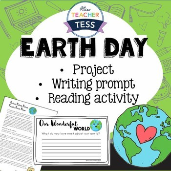 Earth Day: Recycling project & Writing prompt