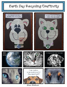 Earth Day Recyling Activity & Writing Prompt