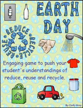Earth Day Reduce, Reuse, Recycle