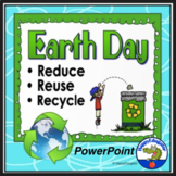 Earth Day PowerPoint - Reduce Reuse Recycle - Distance Learning
