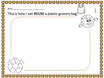 Earth Day Reuse Activity