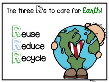 Earth Day! Reuse, Reduce, Recycle