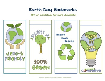 Earth Day Rewards and Activity Packet