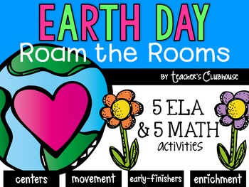 Earth Day Roam the Rooms Pack