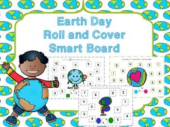 Earth Day Roll And Cover Smart Board