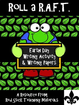 Earth Day Roll a R.A.F.T writing prompt generator