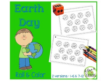 Earth Day Roll and Color