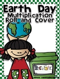 Earth Day Roll and Cover for Multiplication Center Activity