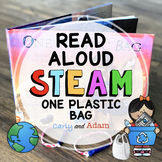 Earth Day STEAM One Plastic Bag Upcycled Bracelet READ ALOUD STEAM™ Activity