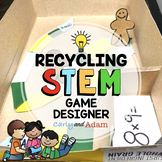 Build a Board Game Recycling Earth Day STEM Challenge