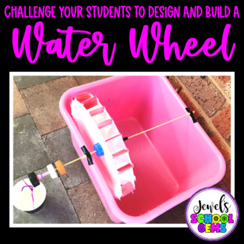 Earth Day STEM Activities (Waterwheel Earth Day STEM Challenge)