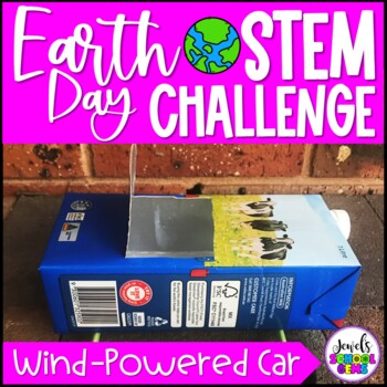 Earth Day STEM Activities (Wind-Powered Car Earth Day STEM Challenge)
