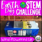 Earth Day STEM Activities (Wind-Powered Car Earth Day STEM