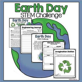Earth Day STEM Challenge (Water Filtration)