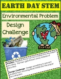 Earth Day STEM:  Design a Solution to an Environmental Problem using Recyclables