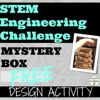 S.T.E.M. Engineering Challenge Mystery Box - SAMPLER