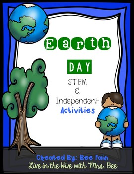 Earth Day STEM & Independent Activities