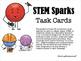 Earth Day Maker Space Task Cards - STEM Sparks