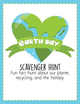Earth Day Scavenger Hunt