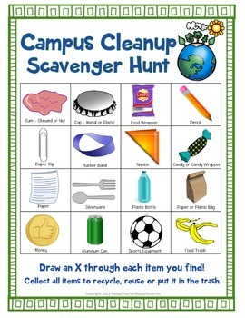 Earth Day Scavenger Hunt: A Fun Earth Day Activity!