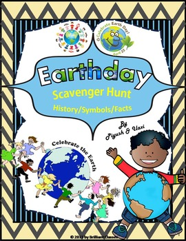 Earth Day Scavenger Hunt - History - Symbols - Facts
