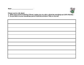 Earth Day- Scavenger Hunt- Read and Write The Room- Grades 4-7