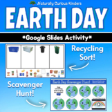 Earth Day - Scavenger Hunt & Recycling Sort - Editable wit