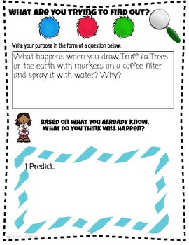 Earth Day Science: Art & Literacy Coffee Filter Experiment!
