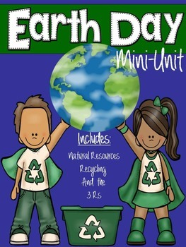 Earth Day Science Interactive Notebook