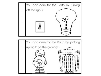 Earth Day Emergent Reader Earth Day Activities