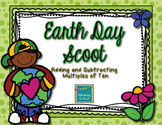 Earth Day Scoot:  Adding and Subtracting Multiples of Ten