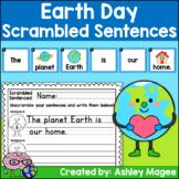 Earth Day Scrambled Sentences Center