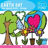 Earth Day Scrappy Clip Art