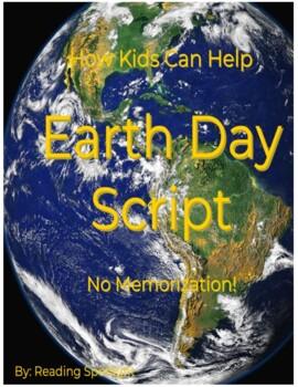 Earth Day Script